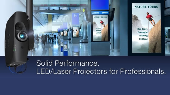 LED-Laser projector