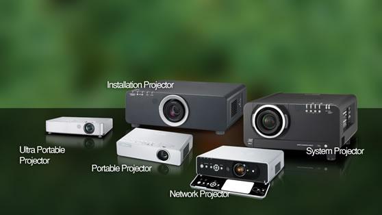 Type projectoren