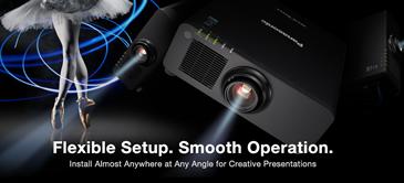 Laserprojector voor flexibele installatie