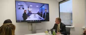 All-in-one videoconferencing toestel