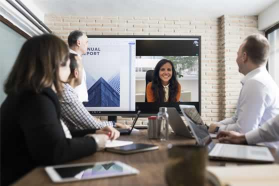 Alles-in-één vergader- & webconferencing oplossing voor online meetings.
