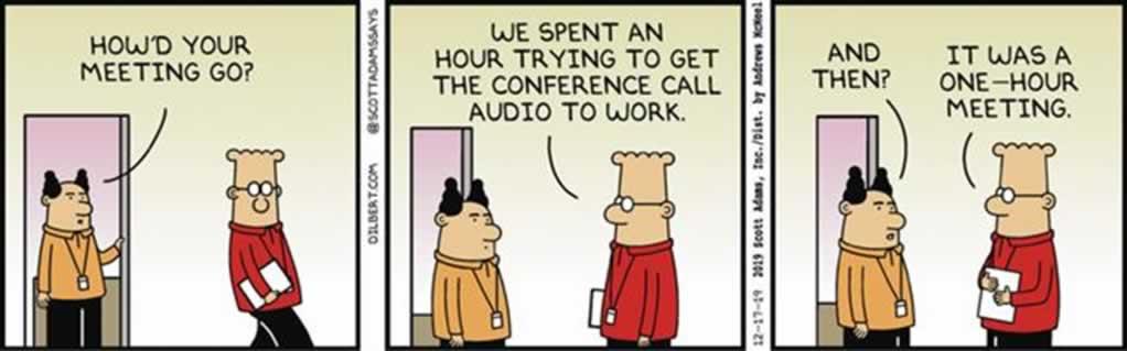 Audio tijdens tele- en videoconferentie