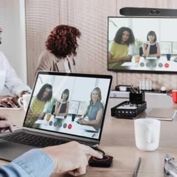 Draadloos verbinding maken met het presentatiescherm