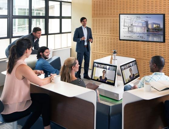 Huddle Space videoconferencing