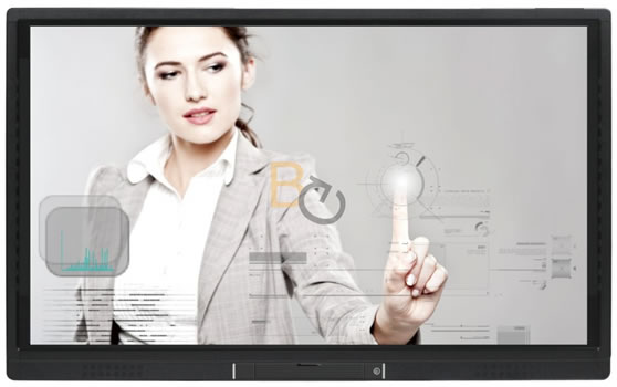 Interactieve touch monitor