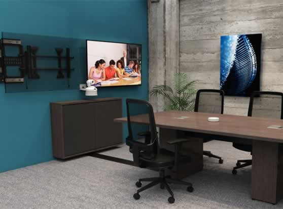 Plaatsing van de videoconferentie toestellen