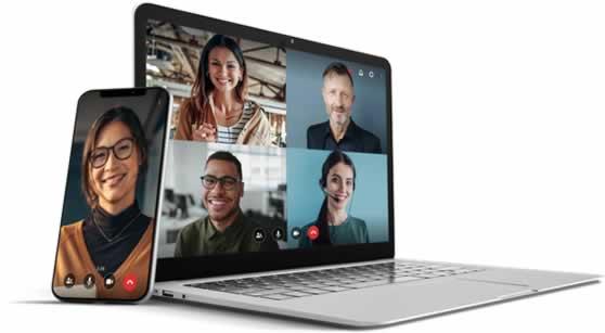 Lifesize is een online oplossing voor web-, audio- en videoconferenties.