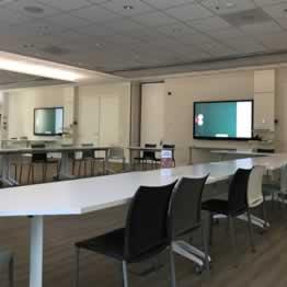 Opsplitsbare vergaderzaal