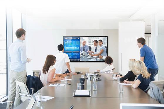 Professionele monitor groot formaat display