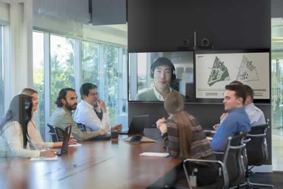 Room systeem voor video conferentie