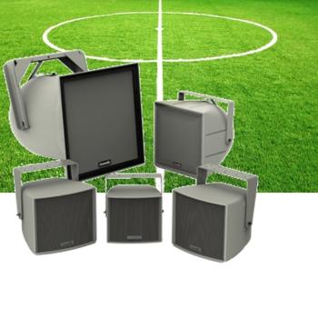 sportcomplex Weersbestendige luidsprekers