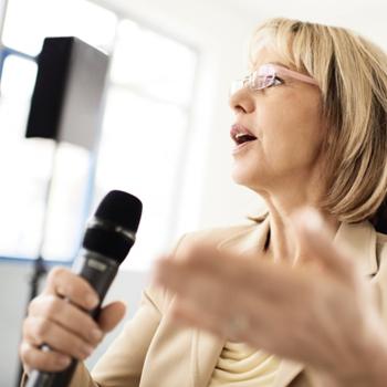 Toepassing-vergaderzaal-Draadloze-microfoon