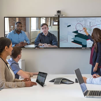 Toepassing-vergaderzaal-Videoconferencing
