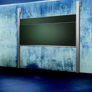 Dubbel kolommenbord in auditorium