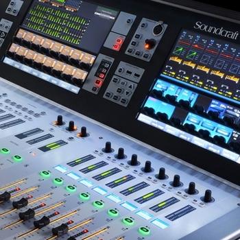 Soundcraft mengpaneel