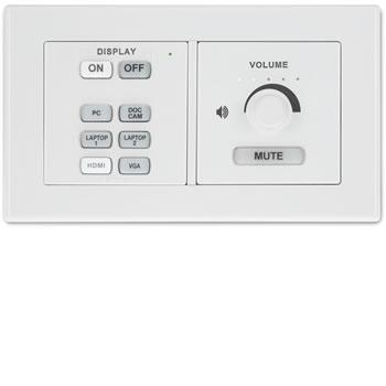 Knoppenpaneel voor centrale AV-bediening