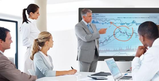 Interactieve TV scherm monitor