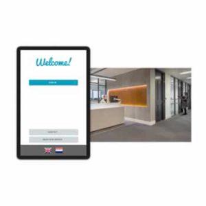 Digitale receptie: zelfregistratie voor bezoekers